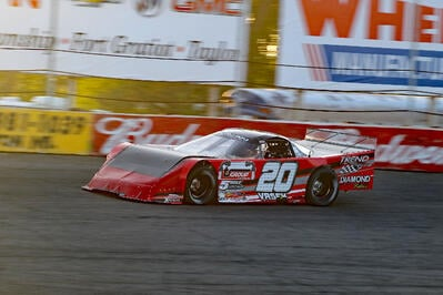 Jeff Vrsek Making A Habit Of Podium Finishes In Outlaw Super Late Model