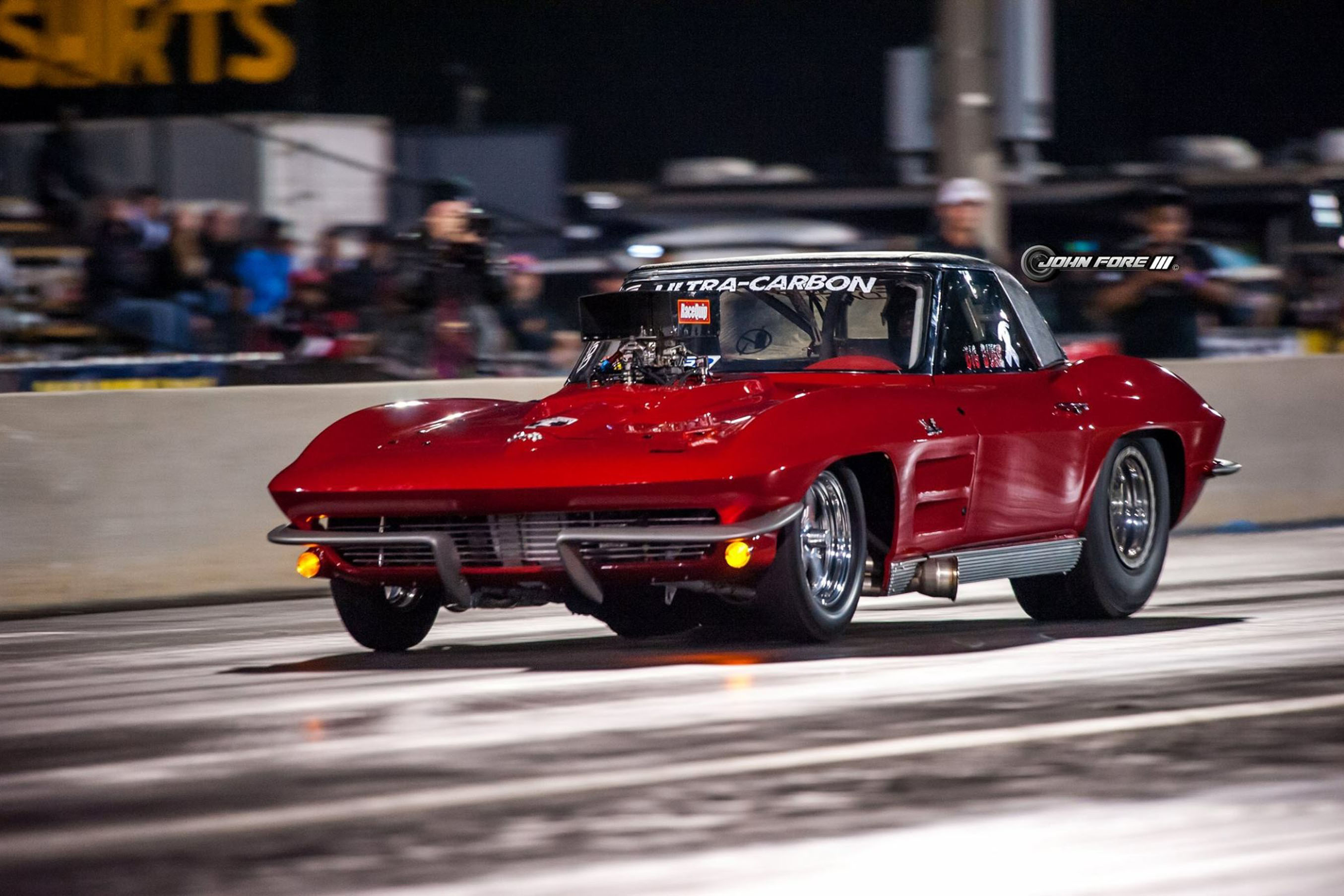 Fast Corvettes are a Family Affair for Street Outlaws' Racer, Shannon Poole