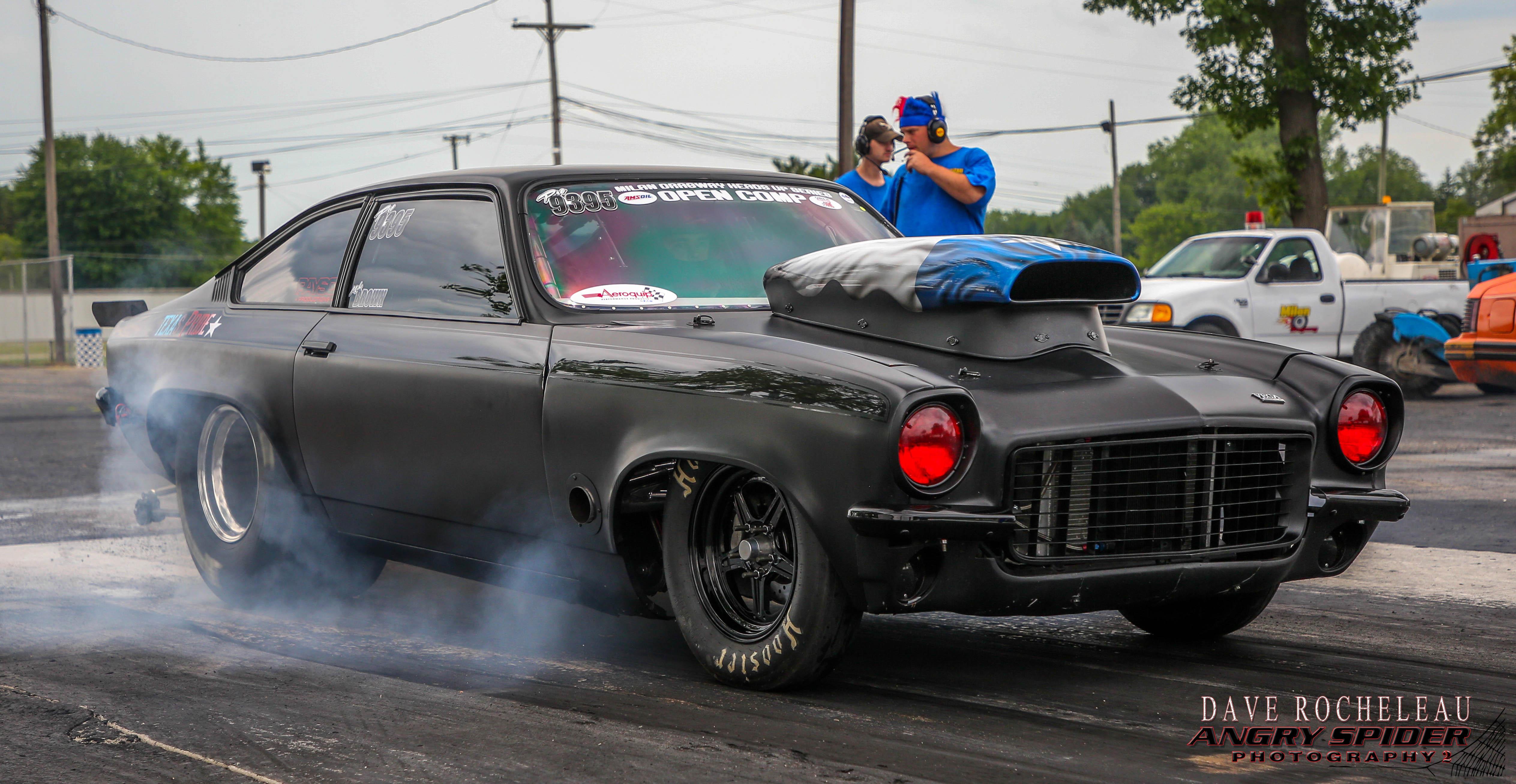 John Brown's Sinister Chevrolet Vega Takes The Road Less Traveled